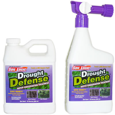 Soil Logic Drought Defense 32 ounce RTS 32 ounce refill combo
