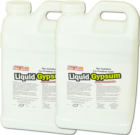 Liquid Gypsum Case Two 2.5 Gallon Refill Bottles