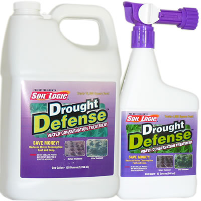 Soil Logic Drought Defense 32 ounce RTS 1 gallon refill combo
