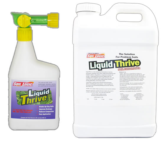 Liquid Thrive 32 ounce RTS 2.5 gallon refill combo