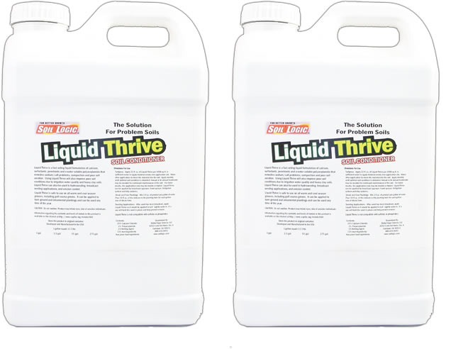 Liquid Thrive Case Two 2.5 Gallon Refill Bottles