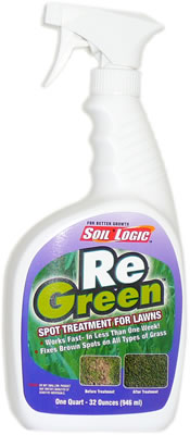 Soil Logic ReGreen 32 ounce quart trigger spray bottle