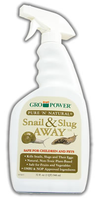 Gro Power Pure n Natural Snail and Slug Away RTU Sprayer