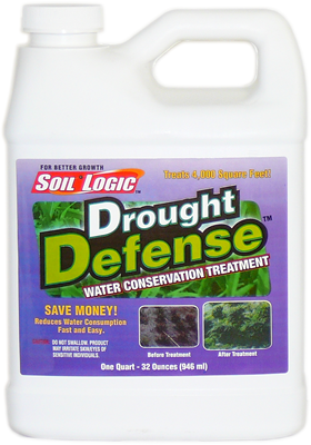 Soil Logic Drought Defense 32 ounce quart bottle