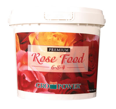 Gro Power Premium Rose Food 6 8 4